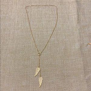 Long Angel loop necklace
